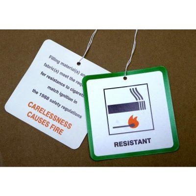 Fire resistant pillows