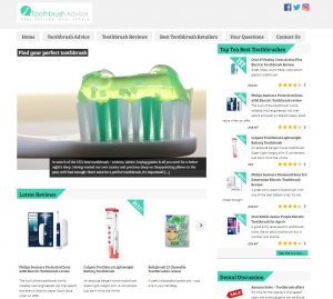 Toothbrush Advisor