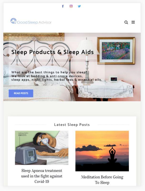 Good Sleep Advisor Screenshot large